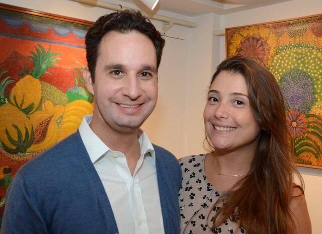 Daniel Soares e Isabela Vieira