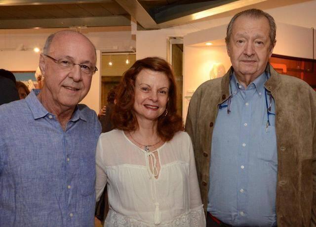 Evandro Carneiro, Elisabeth Di Cavalcanti e Jorge Veiga Filho