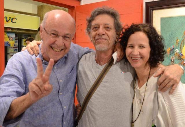 Evandro Carneiro, Gianguido Bonfanti e Marisa Maia