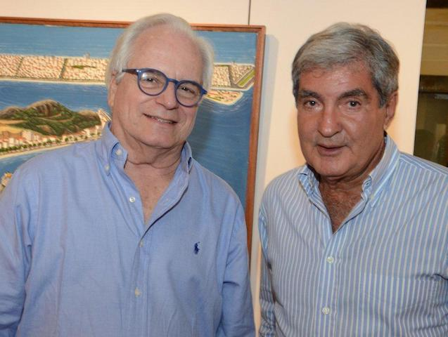 João Condé e Sérgio Costa e Silva