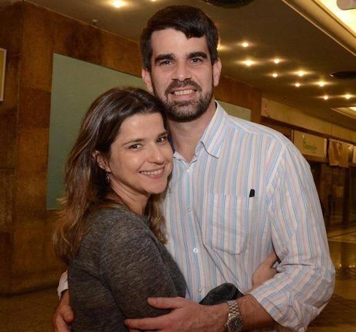 Juliana Valle e Pedro Ferrario