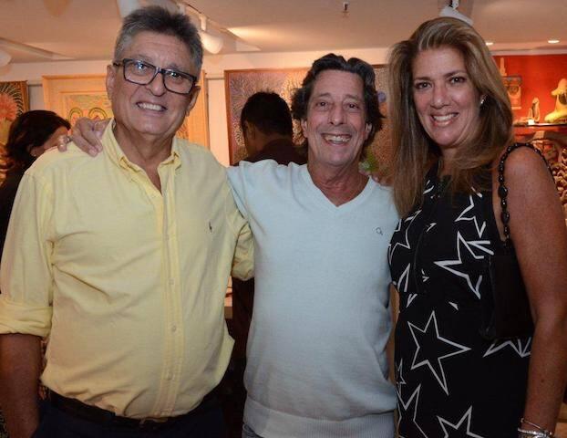 Sérgio Goston, Alexandre de Athayde e Cristina Goston