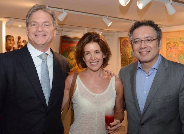 Sérgio Mannheimer, Zaide Faoro e Léo Pedroso
