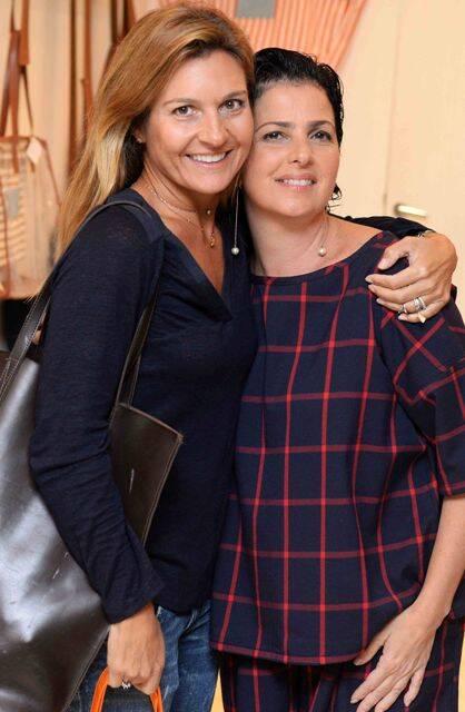 Adriana Levy e Tatiana Weikersheimer