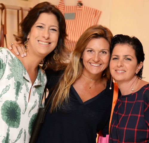 Bianca Adler, Adriana Levy e Tatiana Weikersheiner