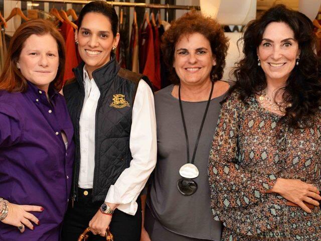Maria Geyer, Thais Araújo, Patricia Xavier e Isabela Laje