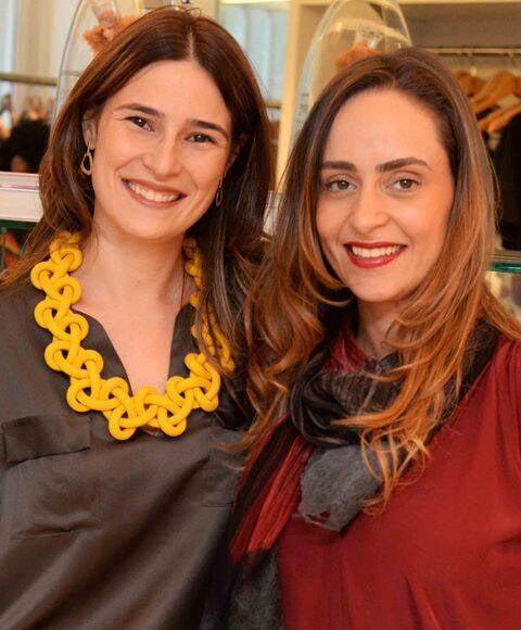 Renata Lamarca e Ana Luiza Tiago