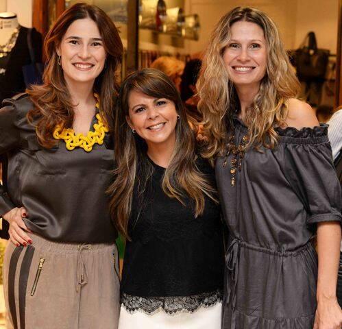 Renata Lamarca, Kika Bastos e Fernanda Gasparian