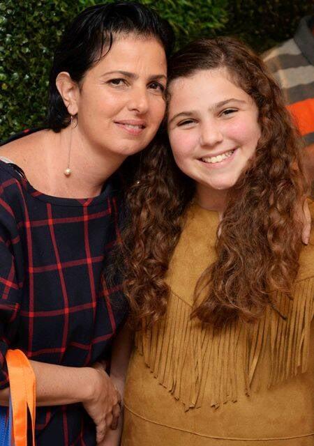 Tatiana Weikersheimer e a filha Olívia