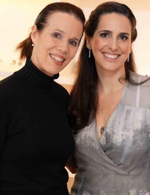 Zizi Ribeiro e Vanessa Robert