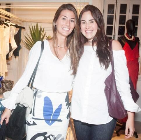 Luiza Aguiar e Nicole Mendlewicz