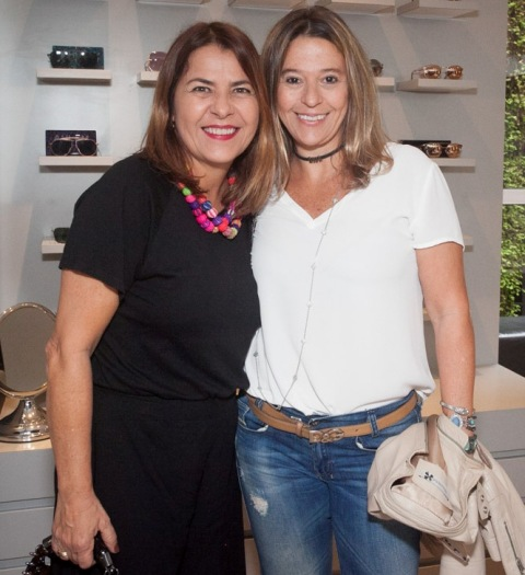 Tiça Dias Garcia e Cristiane Avelino