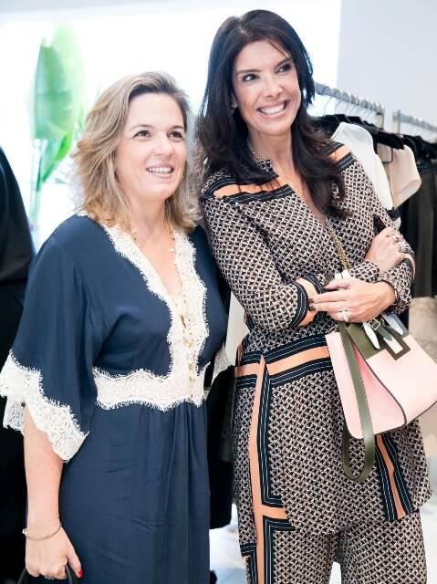 Luciana Caravello e Patricia Brandão