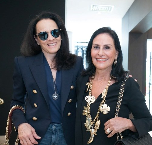 Vera Esteves e Beth Pinto Guimarães