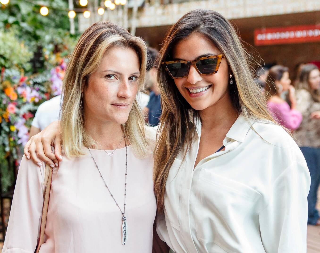 Alessandra Ferraz e Mirella Manso / Foto: Bruno Ryfer