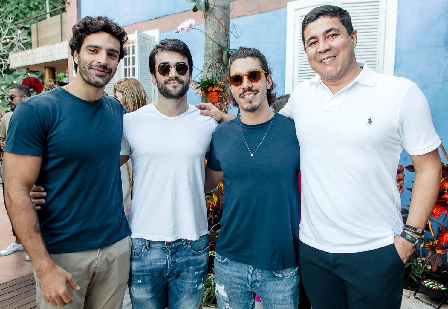 Antônio Aguiar, Luís Felipe Vilhena, Gabriel David e Diógenes Queiroz / Foto: Bruno Ryfer