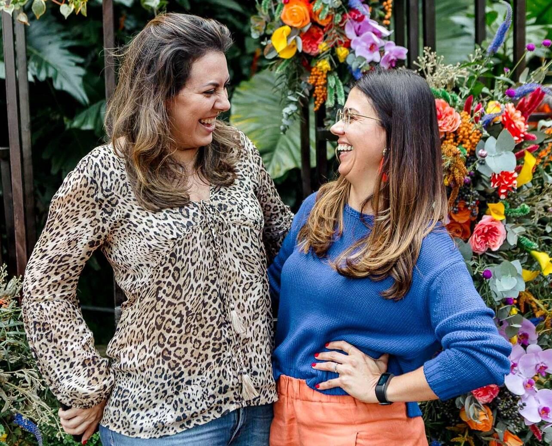 Fernanda Cruz e Alana Marinho / Foto: Bruno Ryfer