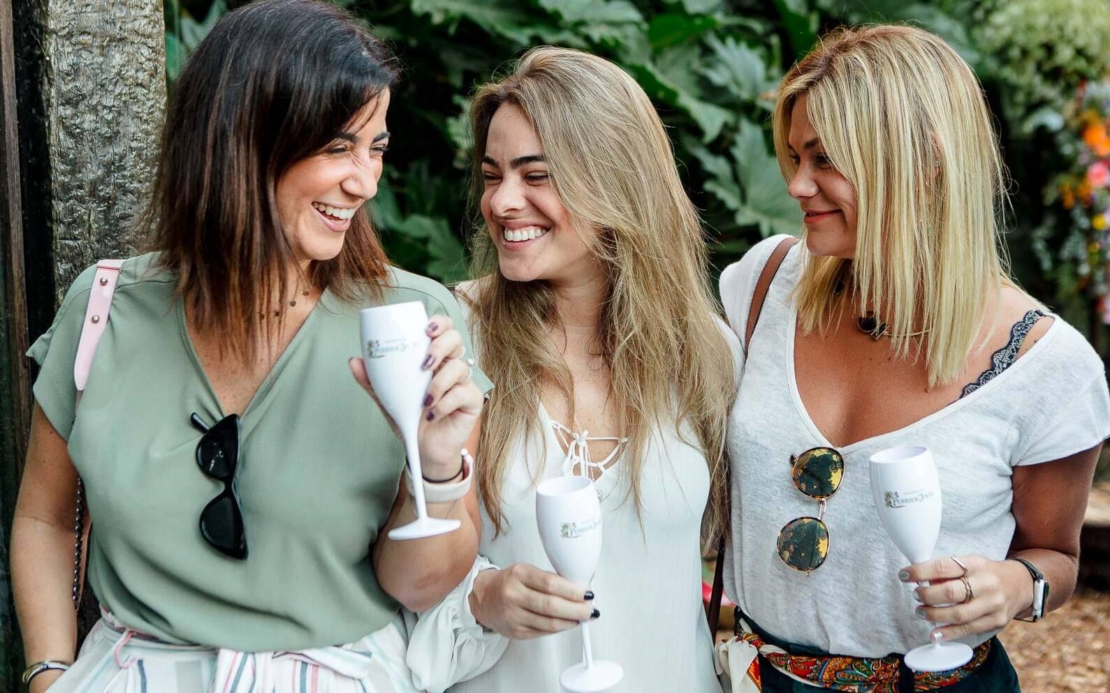 Joana Hellmeister, Carolina Maldari e Fabiana Giansante / Foto: Bruno Ryfer