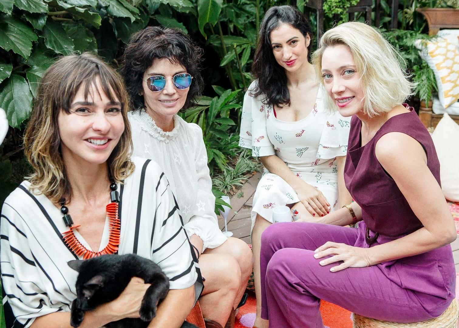 Zaza Piereck, Sandra Arraes, Thaisa Jafe e Vanessa Bueno / Foto: Bruno Ryfer