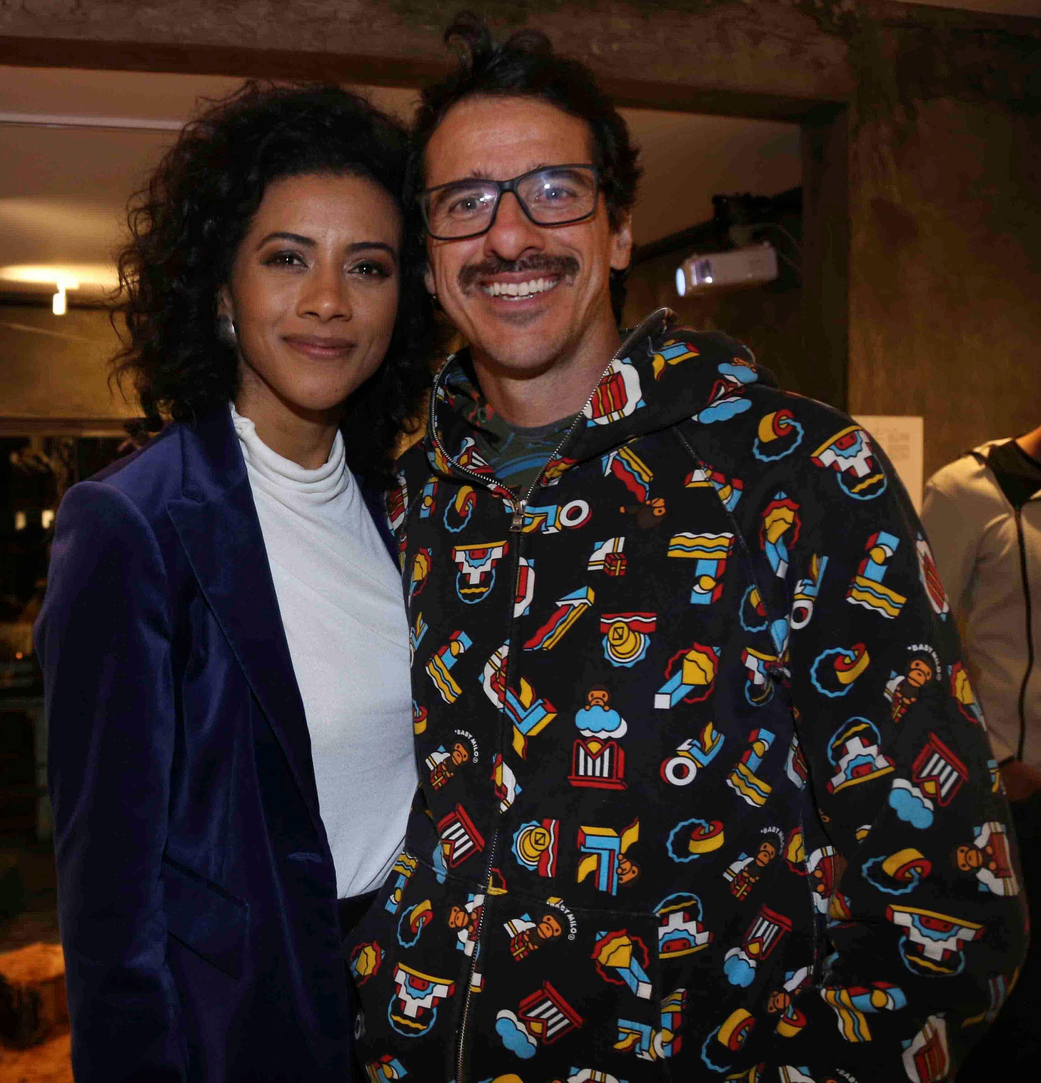 Aline Midlej e Rodrigo Cebrian /Foto:Denise Andrade