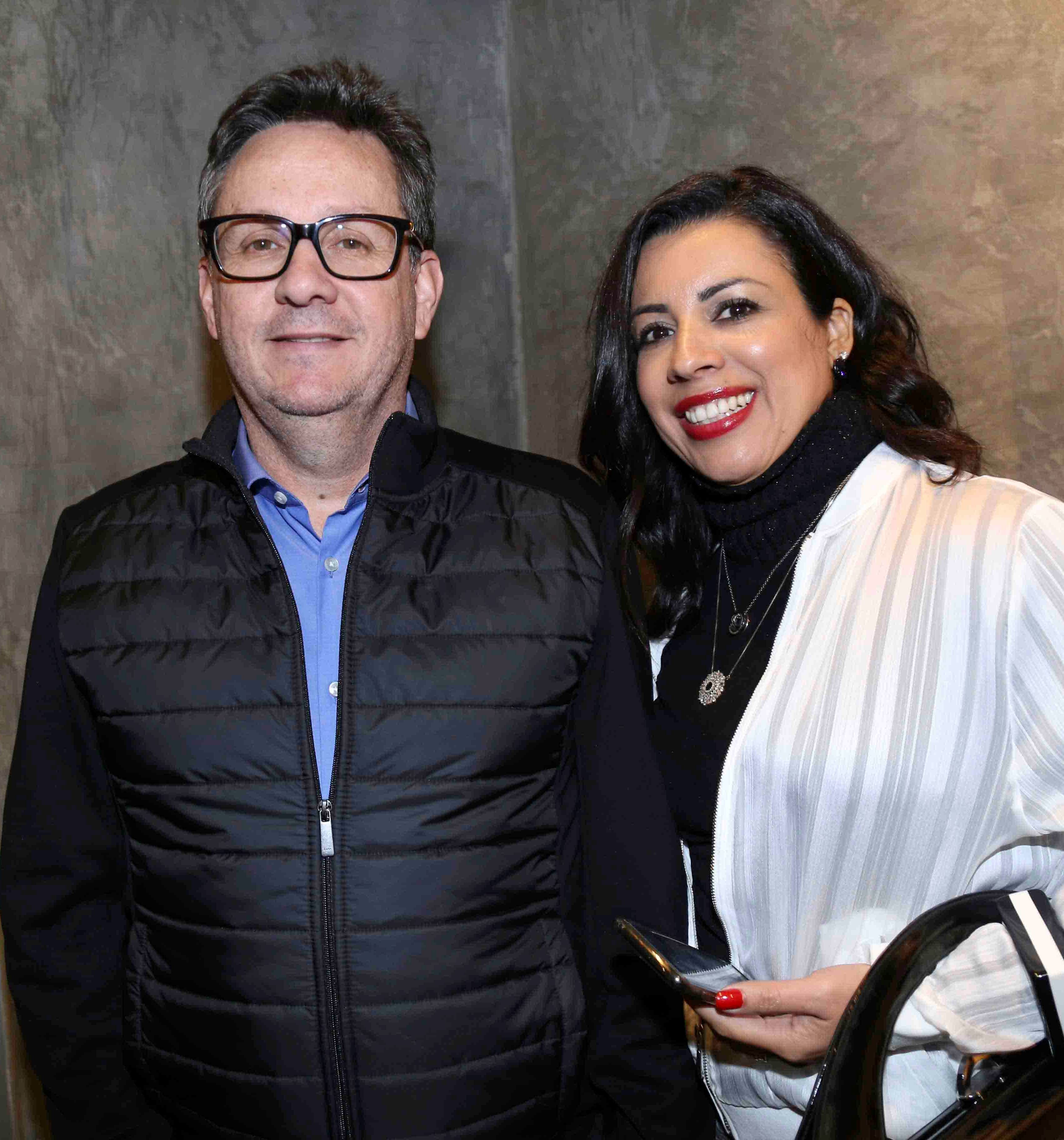 Clovis Rabelo e Andrea Rabelo /Foto:Denise Andrade