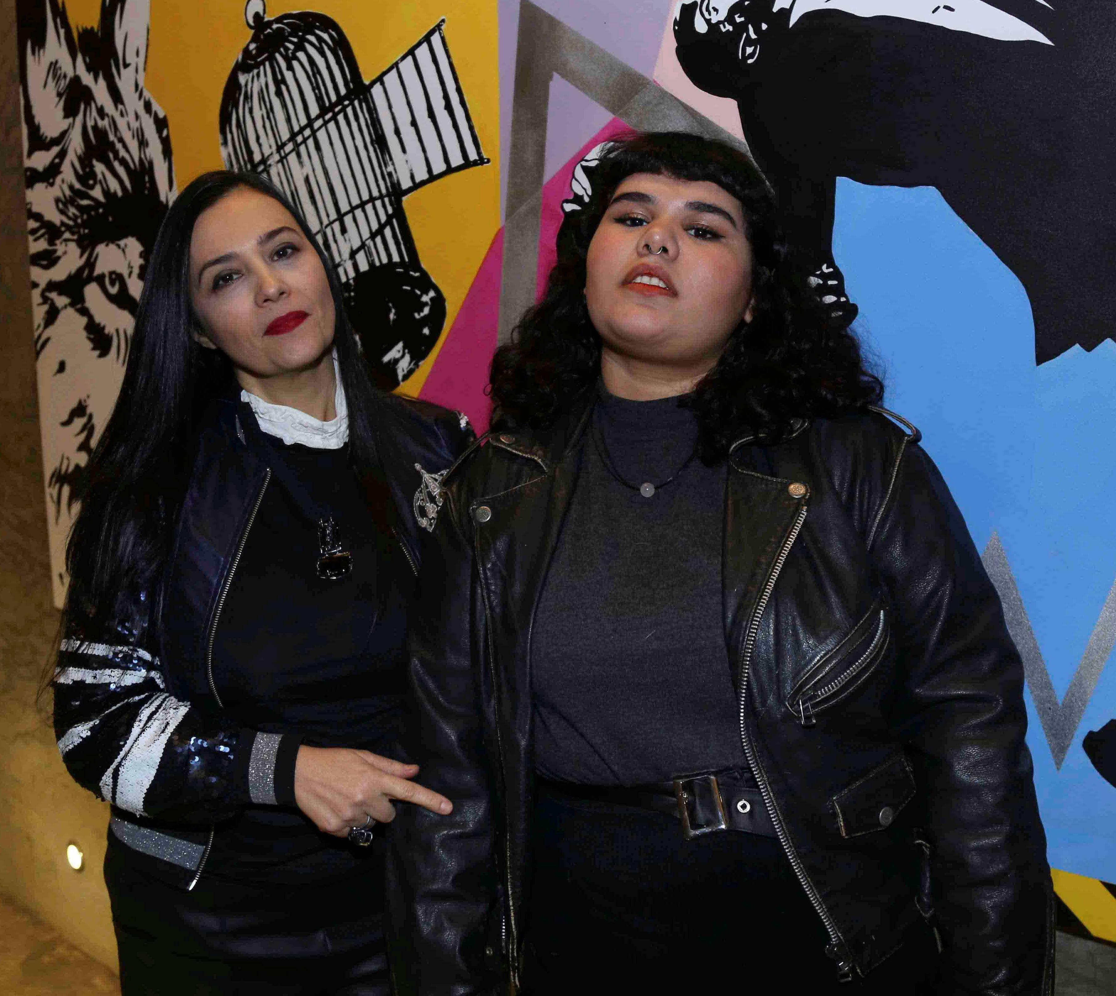 Erica Airoldi e Brena Moraes /Foto:Denise Andrade
