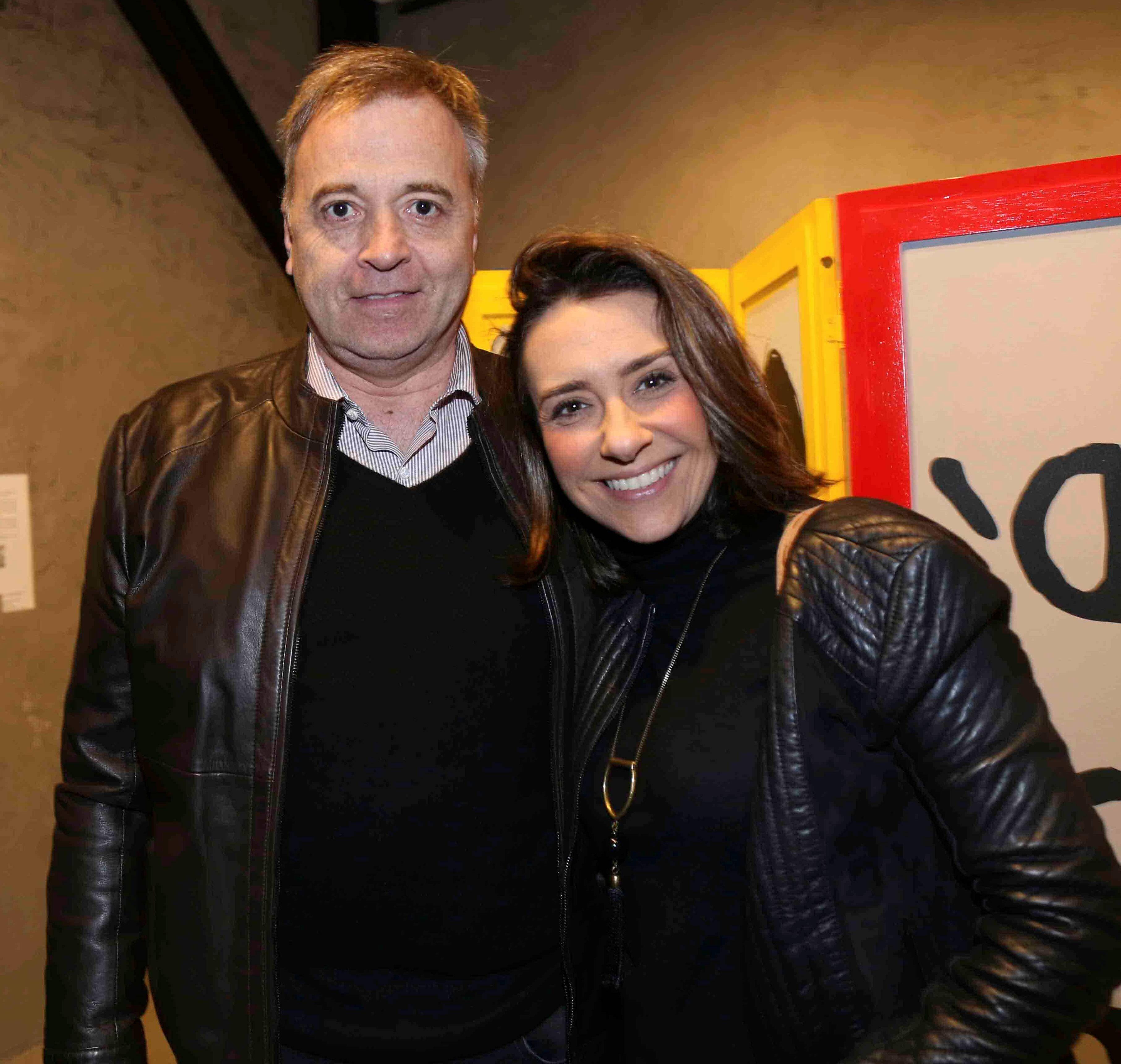 Laurent Girault e Flavia Travassos /Foto:Denise Andrade
