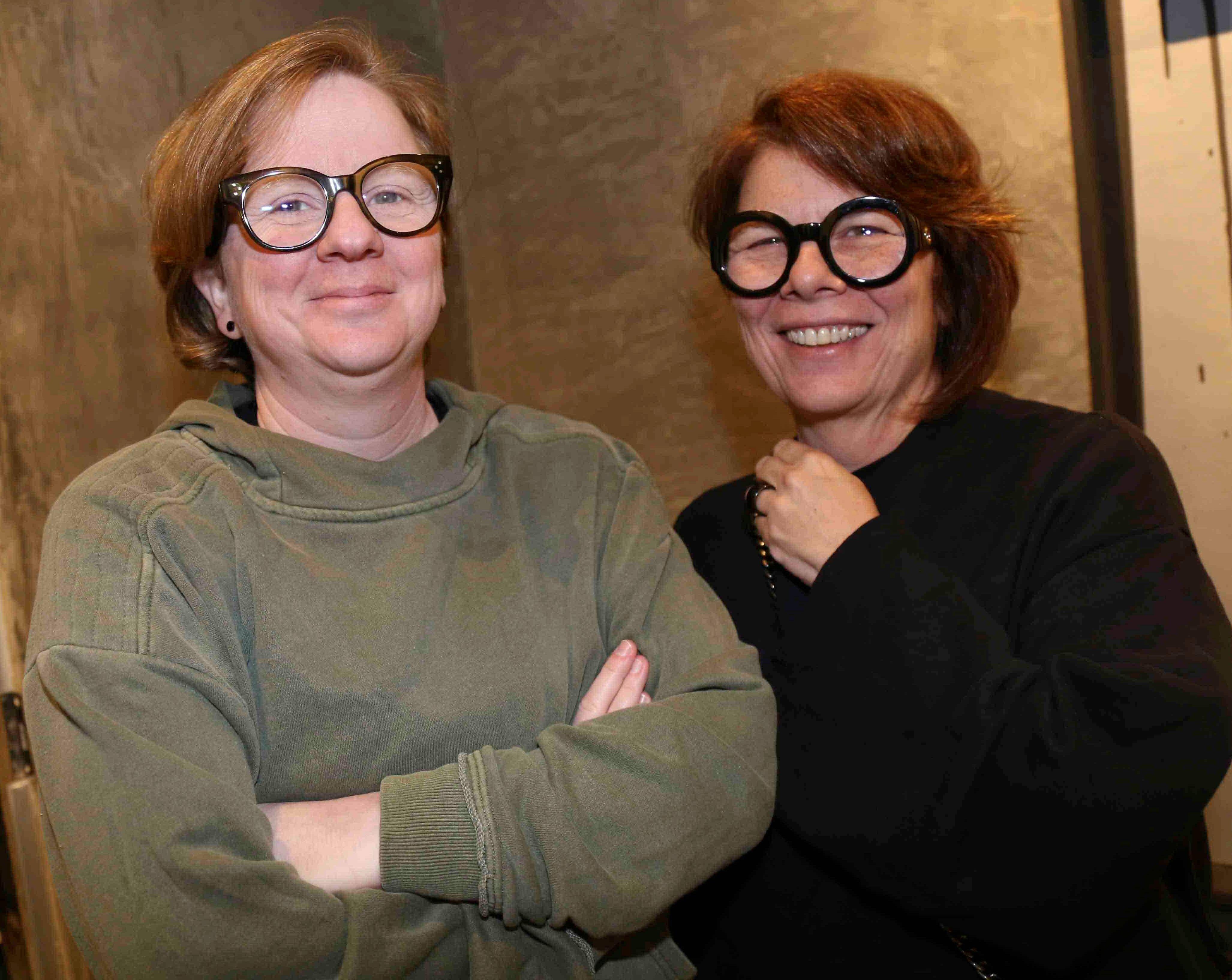 Monica Paes e Julie Schlossman /Foto:Denise Andrade