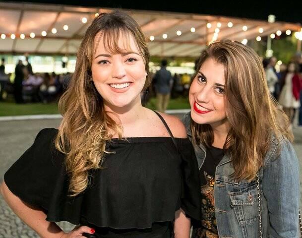 Belisa Pires e Mariana Salgueiro
