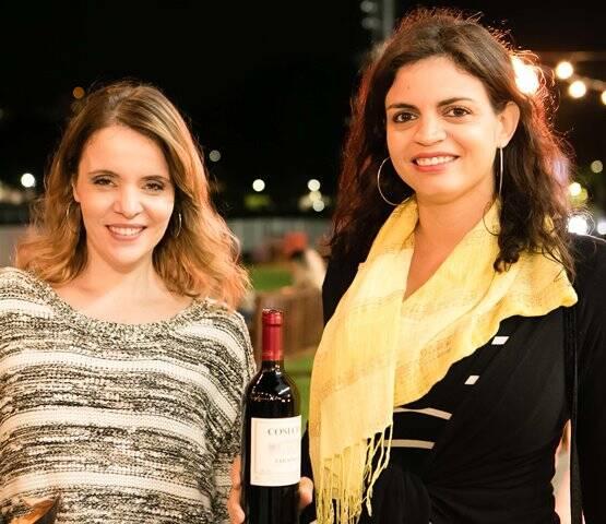 Claudia Bueno e Giselle Nogueira