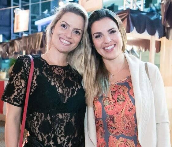 Fernanda Lago e Raphaela Oberlaender