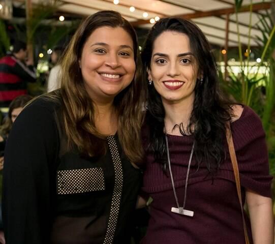 Jaqueline Tonelli e Lilia Lavaor