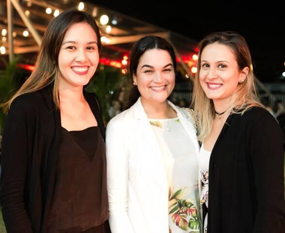 Lígia Borges, Ana Clara Costa e Fernanda Campora