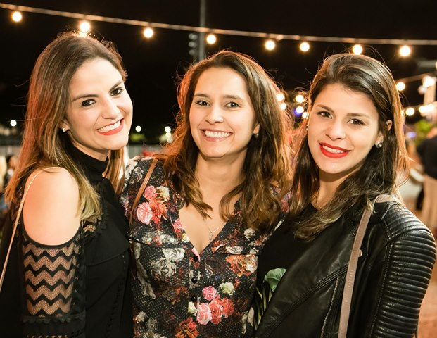 Luciana Abreu, Mikaela Passo e Camila Piovezan