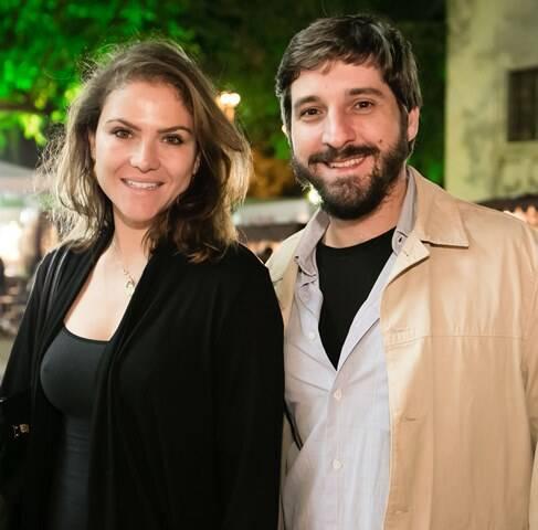 Marcela Higino e João Luiz Niemeyer