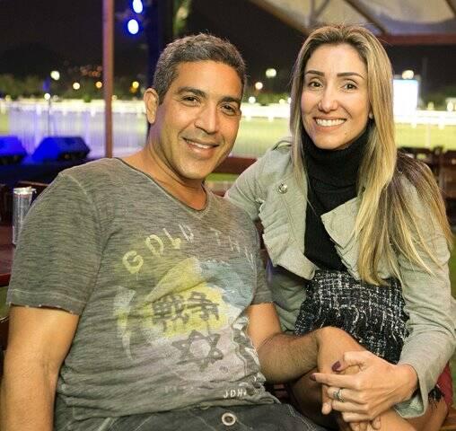Vagner Jacomo e Tamara de Andrade