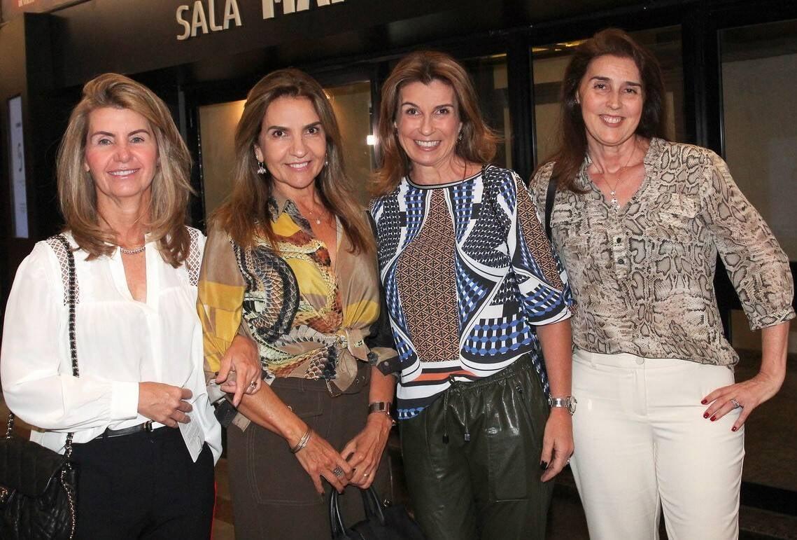 Martha Brasil, Claudia Pepe, Andrea Sang e Andrea Alves /Foto: Vera Donato