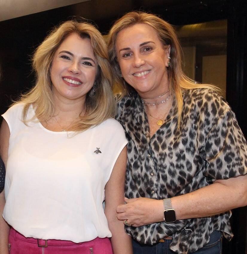 Michele Zaidan e Lucinha Amorim /Foto: Vera Donato