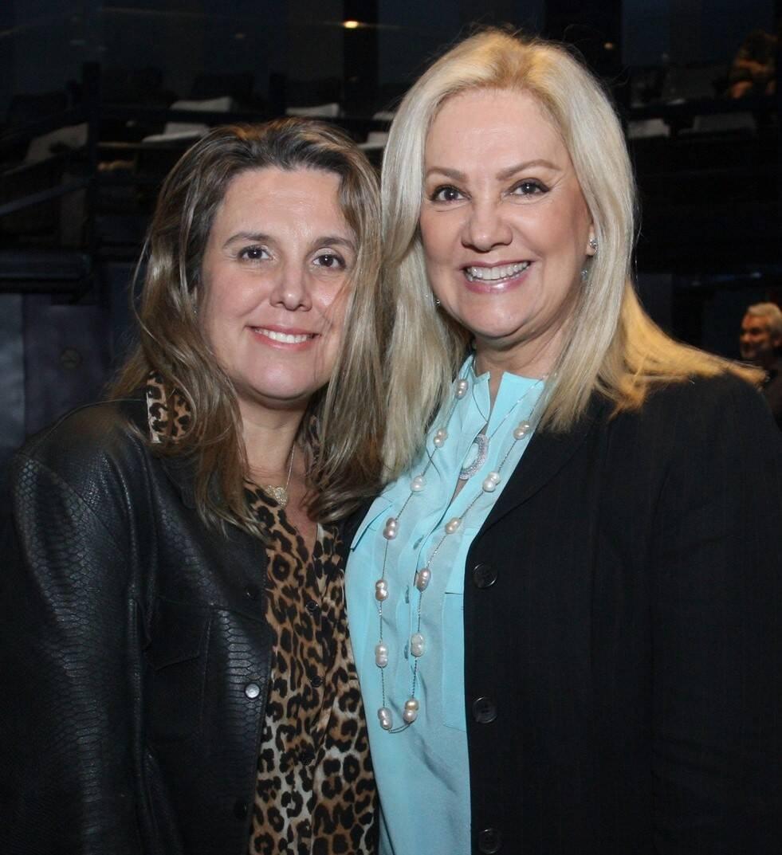 Danielle Briggs e Alda Soares /Foto: Vera Donato