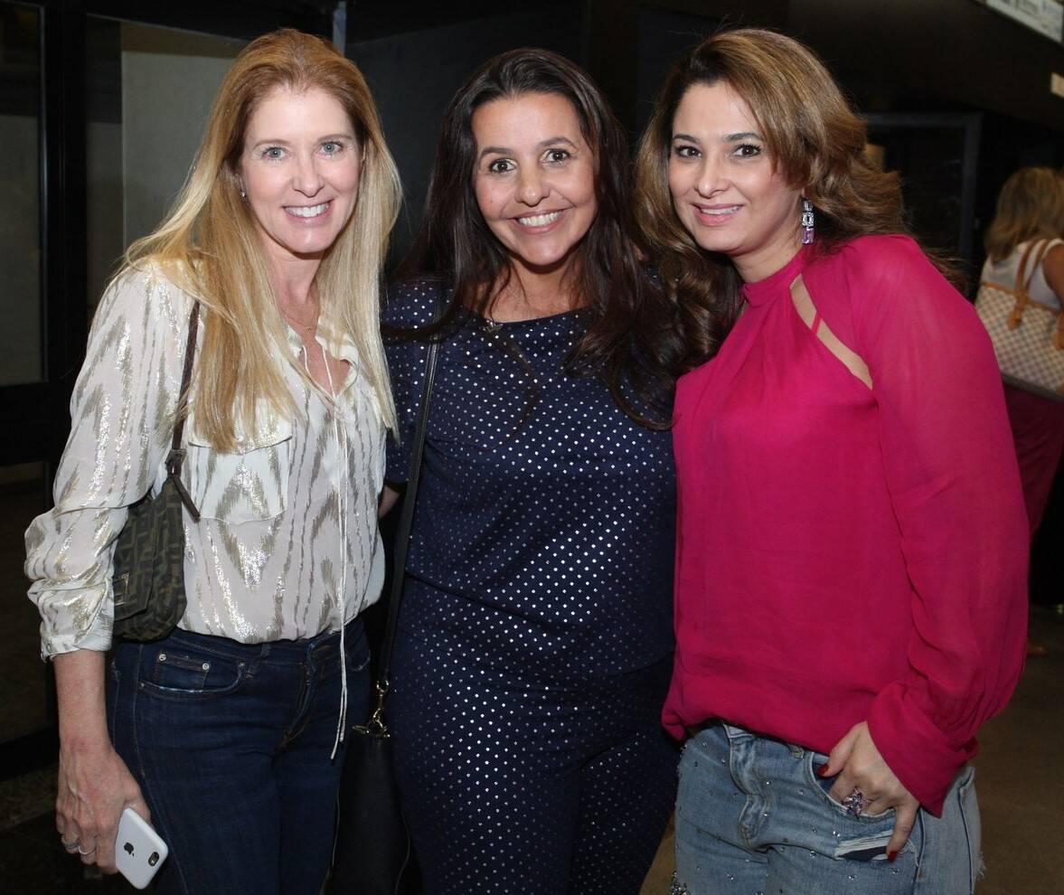 Monica Kimelblat, Ana Beatriz Palhares e Cris Sena /Foto: Vera Donato