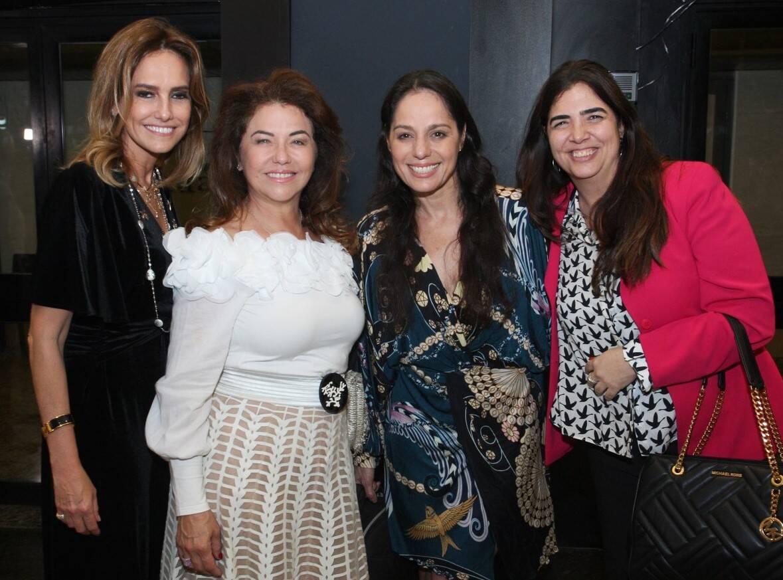 Georgia Buffara, Monica Isaksen, Claudia Mauro e Cintia Leite /Foto: Vera Donato