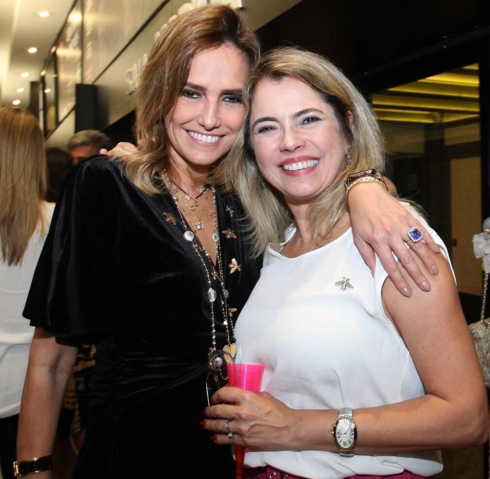 Georgia Buffara e Michele Zaidan /Foto: Vera Donato