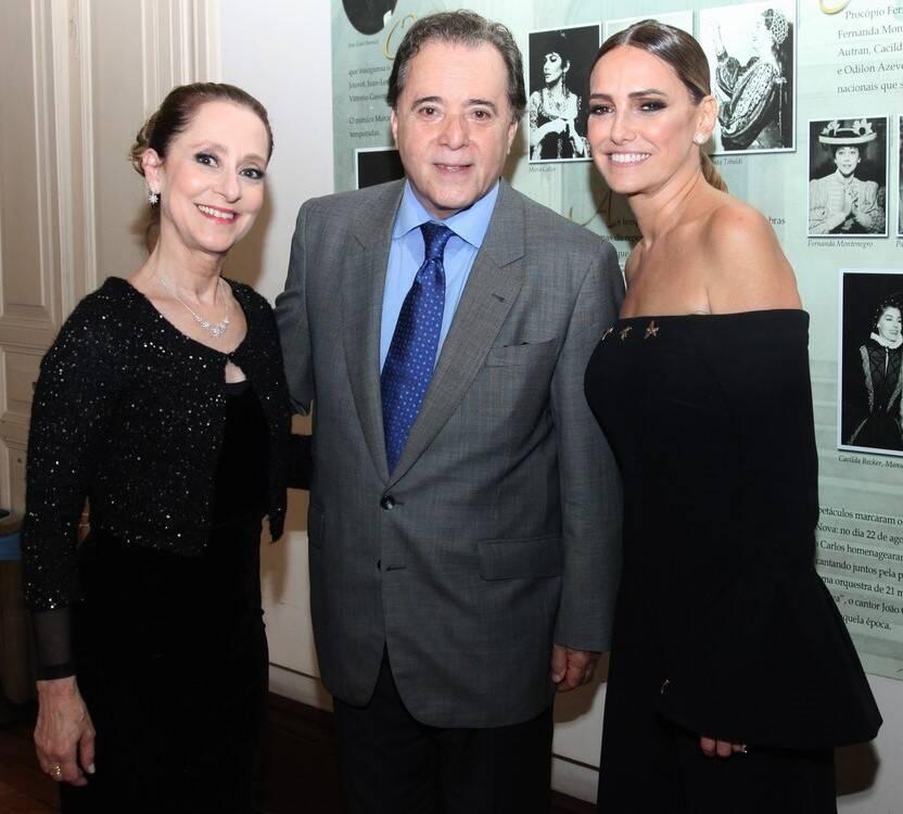 Ana Botafogo, Tony Ramos e Georgia Buffara /Foto: Vera Donato