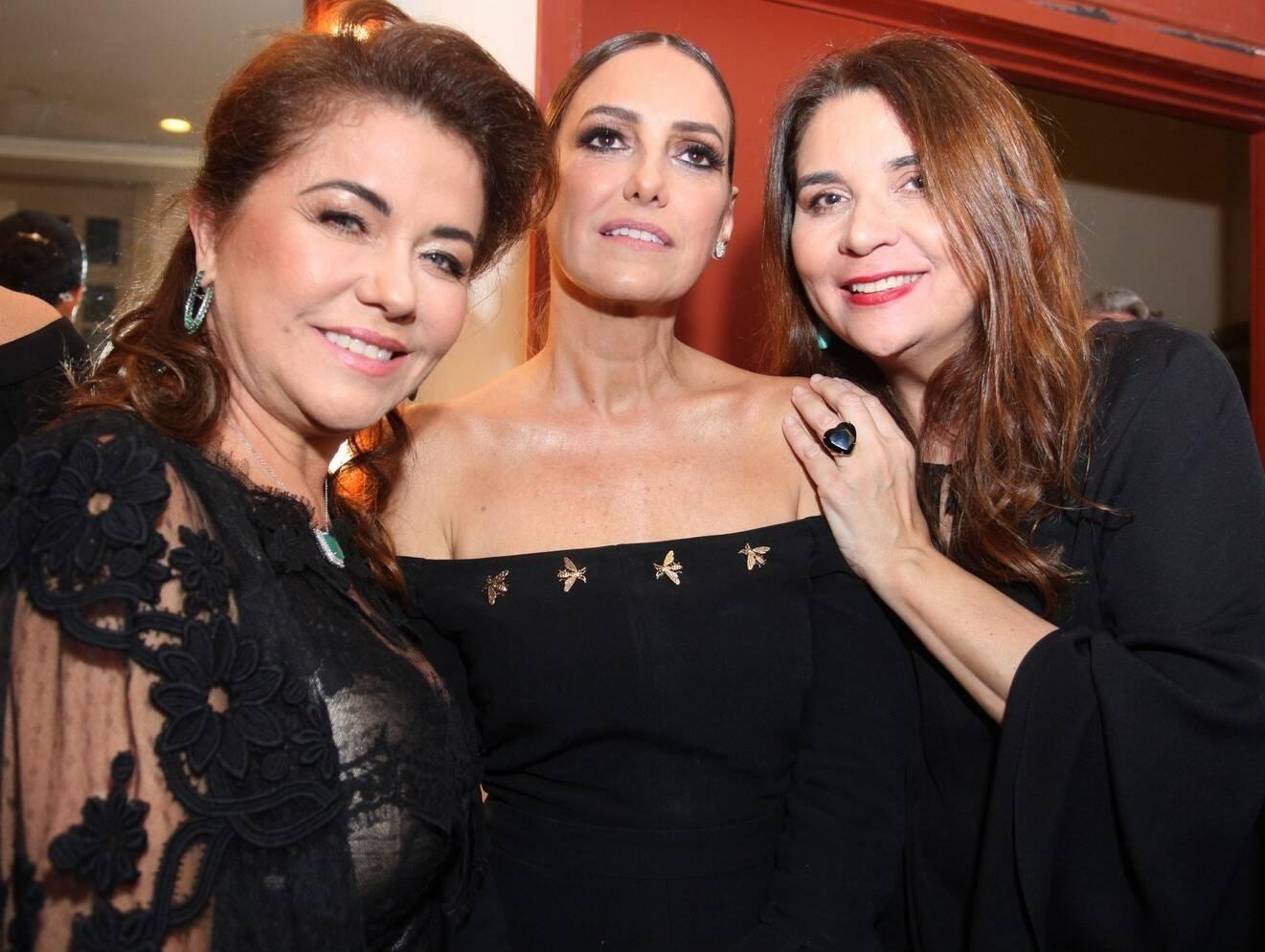 Marta Isaksen, Georgia Buffara e Ana Claudia Vaz /Foto: Vera Donato