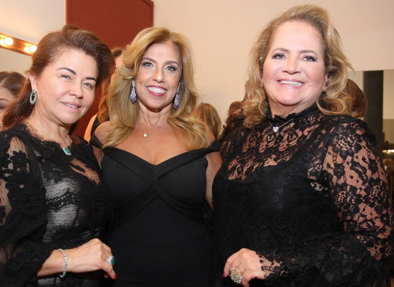 Marta Isaksen, Katia Cohen e Renata Fraga /Foto: Vera Donato