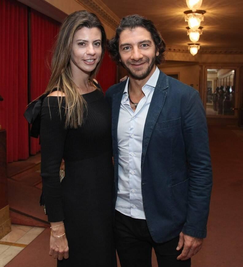 Fabio Szwarcwald e Tatiana Zukerman /Foto: Vera Donato
