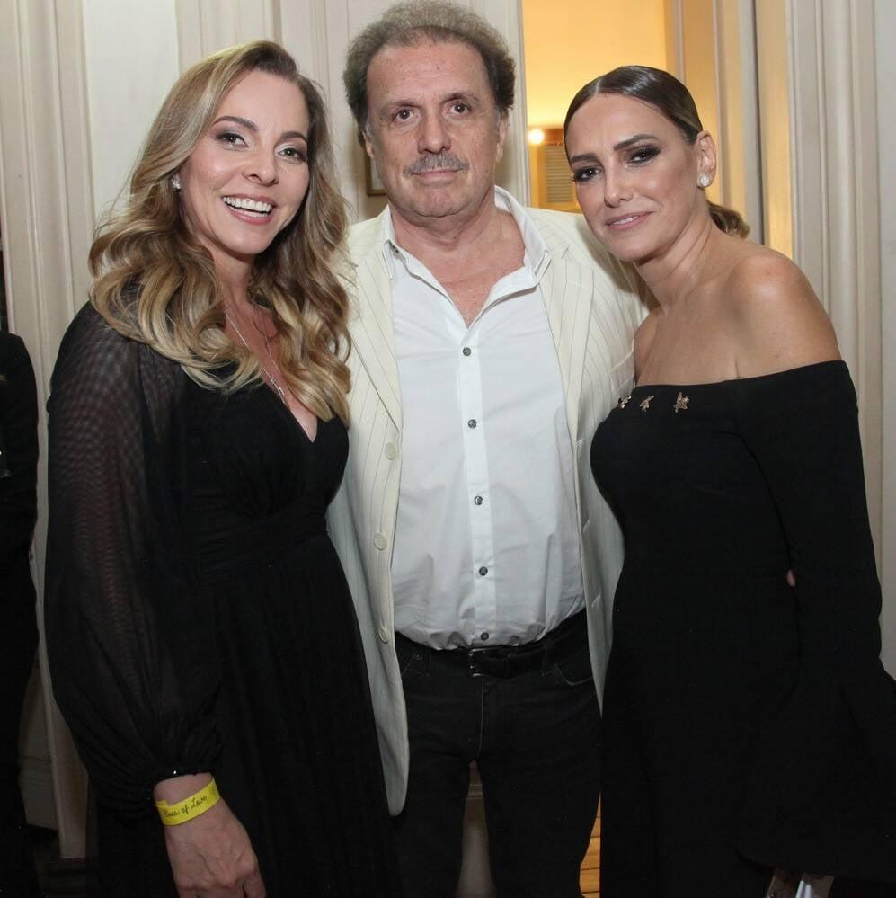 Fabiola Davi, Eduardo Lages e Georgia Buffara /Foto: Vera Donato