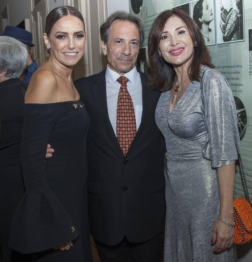 Georgia Buffara, Ira Levin e Ana Cláudia Brito /Foto: Vera Donato