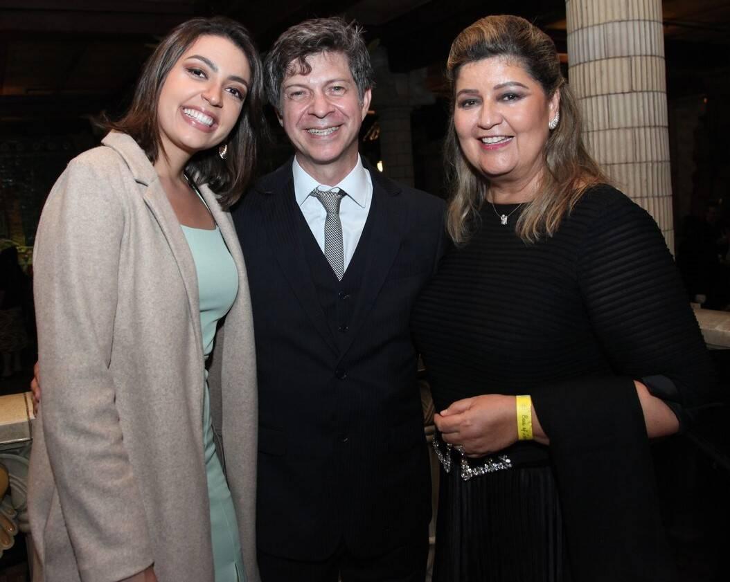 Fernanda Cid, Marcelo Misailidis e Janete Sendas /Foto: Vera Donato