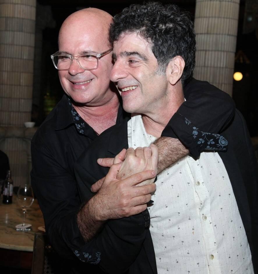 Eder Meneghine e George Israel /Foto: Vera Donato